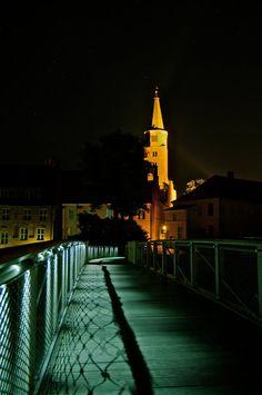 Dom bei Nacht zu Brandenburg an der Havel