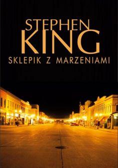 Okładka książki Sklepik z marzeniami Horror, Books, Movie Posters, Movies, Europe, Libros, Films, Book, Film Poster