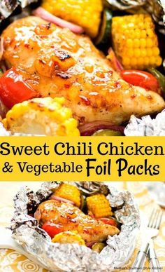 28 Hobo Foil Packet Dinner Recipes Perfect for Home or Camping - Sincerely Kale Foil packet meals are such a great option when you're low on time. Enjoy one of these 28 hobo foil packet dinner recipes tonight! Foil Packet Dinners, Foil Pack Meals, Tin Foil Dinners, Hobo Dinners, Foil Packet Recipes, Grilling Recipes, Cooking Recipes, Healthy Recipes, Grill Meals