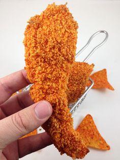 Ummmm good ... How To Make Doritos Crusted Chicken Strips