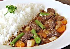 Recept : Nekynuté houskové knedlíky vařené ve vodě | ReceptyOnLine.cz - kuchařka, recepty a inspirace Grains, Beef, Food, Meat, Essen, Meals, Seeds, Yemek, Eten