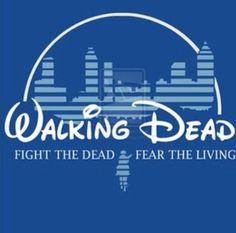 Disney walking dead mashup - the walking dead - fight the dead fear the living