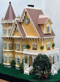 Beautiful doll house for kids to play and decorate. I bet this would become an heirloom.