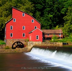 """Looking Glass"" - Historic Red Mill, New Jersey by Rose Scodari on 500px"