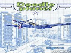 Doodle Planes  Android Game - playslack.com , directing  your doodle plane combat aeroplanes, helicopters, air-balloons and other flying enemies.
