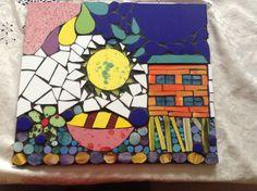 Mosaico en ceramica