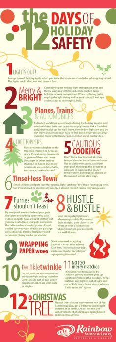 The Twelve Days of Holiday Safety