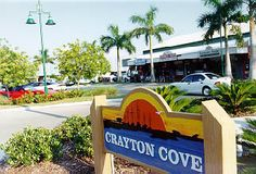 Located on 12th Avenue South and 8th Street South, and NW on Naples Bay by sea. Crayton Cove harbors the Naples City Dock, the famous Dock Restaurant, Naples Ships Store, The Cove Inn, and a variety of shops, artist studios and eateries.