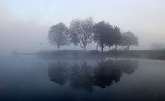 How To Take Photos Of Mist On A Lake After Sunrise - Digital Photo Secrets