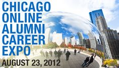 Ready for a new #job? Join the #Chicago Online Alumni Career Fair on August 23 to connect with #recruiters! Learn more: http://ow.ly/d3VI3