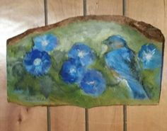 Check out this item in my Etsy shop https://www.etsy.com/listing/521538517/bluebird-and-morning-glories