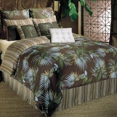 Bedding for a Tropical Look