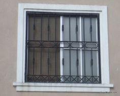 foto de modelo de reja de ventana