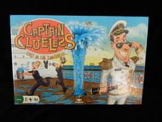 Captain Clueless Lost in the Caribbean, GameWright, New & Sealed, Age 8 and up #Gamewright