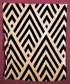 Liubov Popova Sample of Printed Fabric, State Tretiakov Gallery, Moscow - Tate Papers 14, 2010