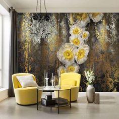 Brewster Home Fashions Komar Serafina Wall Mural 3d Wallpaper For Walls, Brick Wallpaper, Paper Wallpaper, Wallpaper Panels, Home Wallpaper, Wallpaper Designs, Interior Walls, Interior Design, Tile Panels