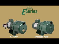 Complete with reliable and tested motors with an easy switch between 115V and 230V, A.Y. McDonald's E-Series Jet Pumps and Sprinkler Pumps help gain access to clean water easier than ever. Follow along as Plumbing and Pump Product Manager, Jim Francois, further explains the features and benefits to each pump.