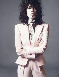 Raquel Zimmermann photographed by David Sims, styled by Emmanuelle Alt for Vogue Paris Dec/Jan 2011