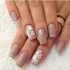 90 Best Spring Nails 2019 Ideas Fashion and Lifestyle Pink Nail Art, Cute Acrylic Nails, Glitter Nails, Cute Nails, My Nails, Chevron Nail Art, Classy Nails, Stylish Nails, Trendy Nails