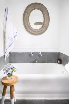 Anne Ziegler's Laurel Canyon Home — Blank Canvas Home Bathroom on @SavvyHome