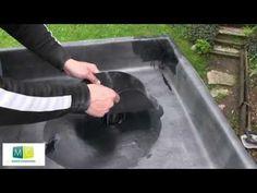 Étanchéité membrane EPDM toiture plate (partie 2/2) - YouTube