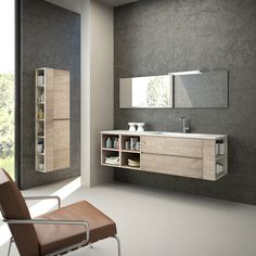 Bathroom furniture_Sherwood surface by Cleaf
