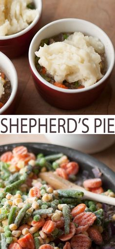 You'll enjoy this traditional Shepherd's Pie recipe that we've ad...