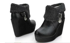 I collect Black Boots! These ones would be my choice when going out with friends. Warm and still very stylish. Would go well with any type of clothing.