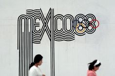 GRAPHIC AMBIENT » Blog Archive » 1968 Mexico Olympics, Mexico