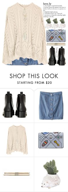 """""""all i want to do is go on road trips and travel the world"""" by exco ❤ liked on Polyvore featuring Acne Studios, Ceramiche Pugi, clean, cozy, knit, organized and twinkledeals"""