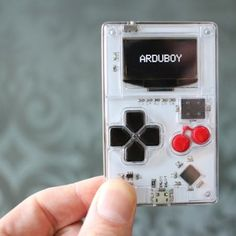 Arduboy is a pocket-sized system that lets you play, make and share 8-bit games. #Atmel #Arduboy #Kickstarter