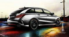 Render #Mercedes CLA Shooting Brake - 1/1
