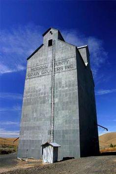 Eastern Oregon - acres of farmland