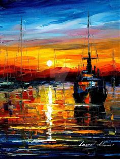 Leonid Afremov - Old Port