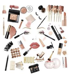 """ALL NUDE"" by anastasianordas on Polyvore featuring мода, tarte, Lime Crime, MAC Cosmetics, Bobbi Brown Cosmetics, Lancôme, Guerlain, Stila, Urban Decay и Nude by Nature"