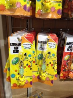 Pokemon Photos from Tokyo - Pikachu with Thunderstone cellphone strap