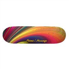 Fractal Art 4 Skateboard