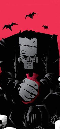 Frankenstein IPhone Wallpaper