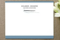stitches Business Stationery Cards by Katie Wahn at minted.com
