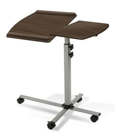 Take a look at this Walnut Height Adjustable Laptop Table by Jesper Office on #zulily today! $75  !!