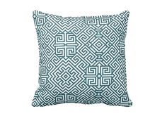 Blue Pillow Cover Decorative Pillow Cover Throw Pillow Covers Cushion Cover Blue Pillowcase Blue Cushion Cover Sofa Pillows Couch Pillow