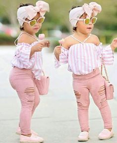 2019 New arrived European Style Children Girl Clothes Set Pretty Kids Outfits With Headband Girls Summer Outfits, Little Girl Outfits, Toddler Girl Outfits, Children Outfits, Children Wear, Children Toys, Summer Girls, Fashion Kids, Baby Girl Fashion