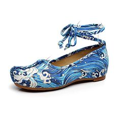 19.99  Women s Oxfords Summer Fall Comfort Novelty Embroidered Shoes  Canvas Outdoor Office   Career Athletic Dress Casual Flat HeelLace-up c1467b8d7cac2