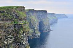 Epic sea cliffs: Cliffs of Moher #cliffs #nature #photography