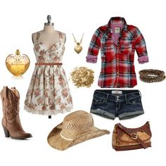 Cute outfit for summer! Perfect for a county fair!