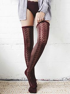 Free People - Sarasota Over-the-Knee Socks