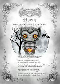 Frightlings: Wolfgang Von Wereling Poem.