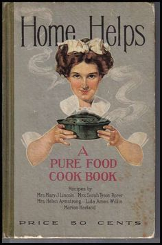 Vintage Cookbooks - Home of cooking guide recipe Pureed Food Recipes, Old Recipes, Vintage Recipes, Cookbook Recipes, Light Recipes, Posters Vintage, Vintage Ads, Vintage Book Covers, Antique Books