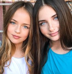 Lilly Kruk and Kristina Pimenova
