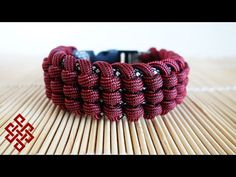 How to Make the Track Knot Paracord Bracelet Tutorial - YouTube